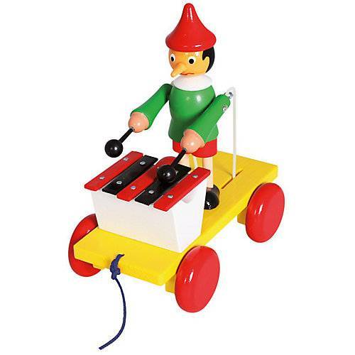 Bino Ziehfigur Pinocchio m.Xylophon