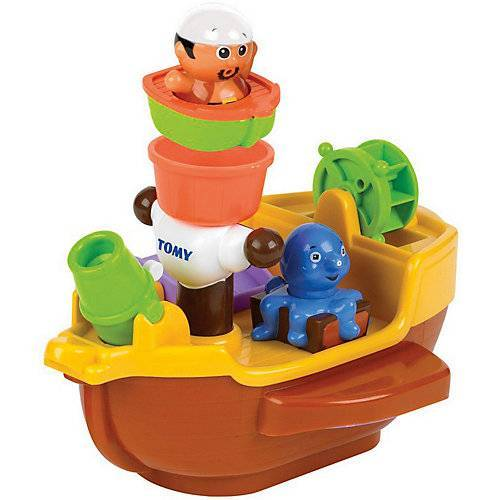 TOMY AQUA FUN - Wasserspielzeug Piratenschiff