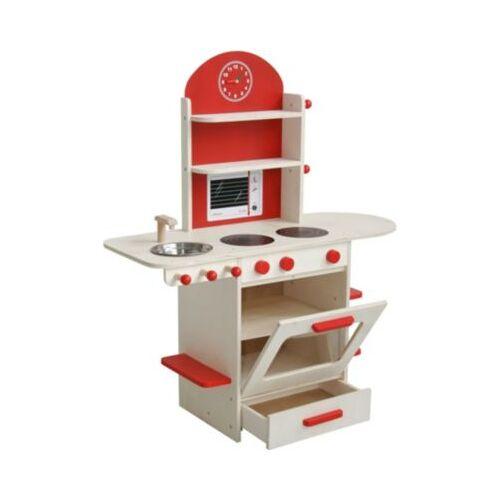 Roba Spielküche, natur/rot