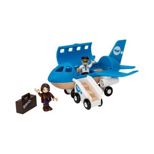 BRIO Blaues Flugzeug