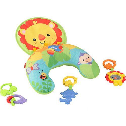 Mattel Fisher-Price Löwen-Spielkissen Bauchlage, Baby-Spielzeug Neugeborene  Baby