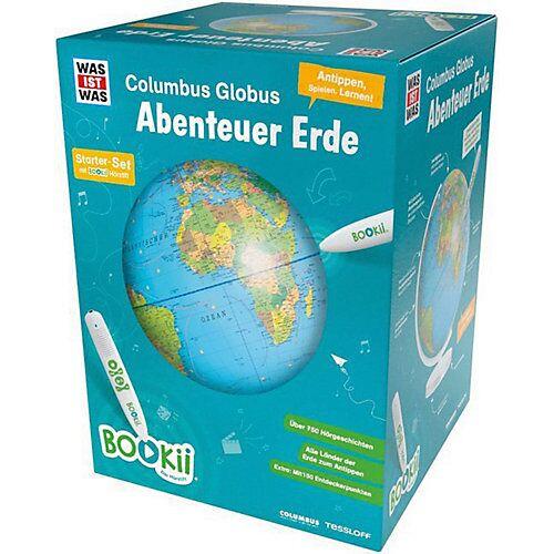 """Tessloff Verlag """"BOOKii® WAS IST WAS Columbus Globus """"""""Abenteuer Erde"""""""", Starter-Set"""""""