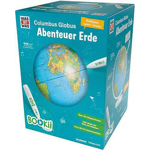 "Tessloff Verlag ""BOOKii® WAS IST WAS Columbus Globus """"Abenteuer Erde"""""""