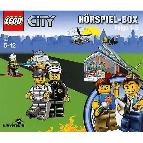LEGO CD LEGO City Hörspielbox  1-3 Hörbuch