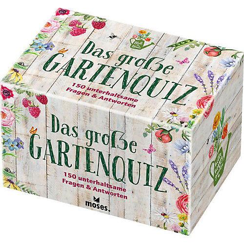 moses. Verlag Das große Gartenquiz (Spiel)