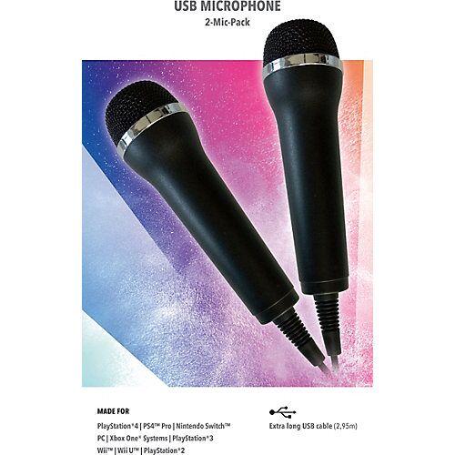 USB Mikrofone Karaoke Games (2er Set)  Kinder