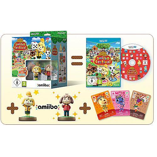 Nintendo Wii U Animal Crossing: amiibo Festival + 2 amiibo-Figuren +  3 amiibo-Karten