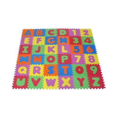 KNORRTOYS.COM Puzzlematte Alphabet & Zahlen, 36-tlg.