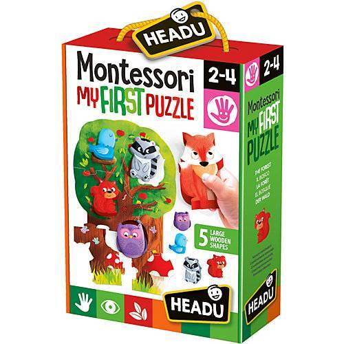 HEADU Montessori Puzzle Wald