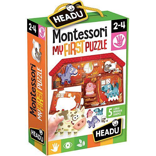 HEADU Montessori Puzzle Bauernhof