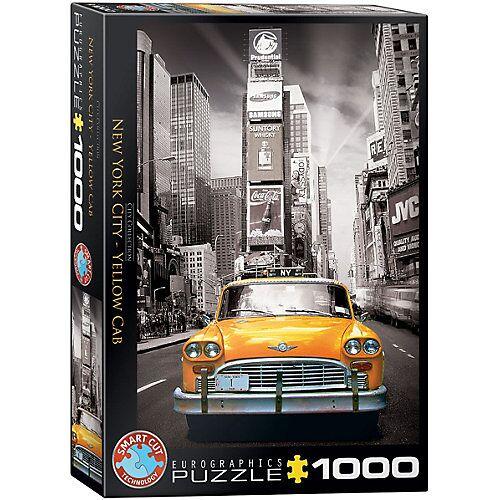 Eurographics Puzzle 1000 Teile-New York City Yellow Cab