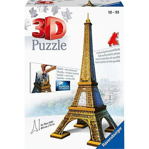 Ravensburger 3D-Puzzle, H44 cm, 216 Teile.  Eiffelturm