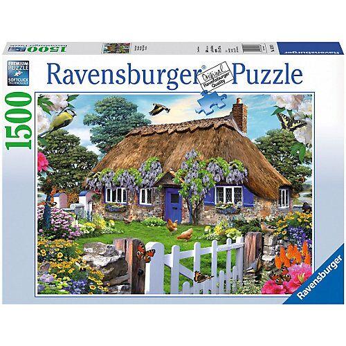 Ravensburger Puzzle 1500 Teile, 80x60 cm, Cottage in England