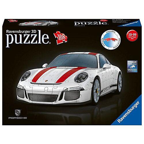 Ravensburger 3D-Puzzle, B25 cm, 108 Teile, Porsche 911 R