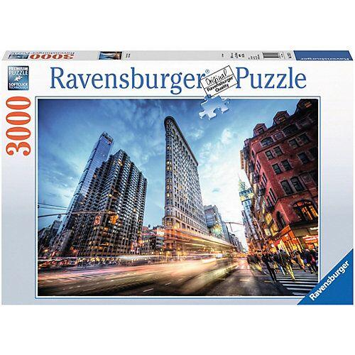 Ravensburger Puzzle 3000 Teile, 121x80 cm, Flat Iron Building New York