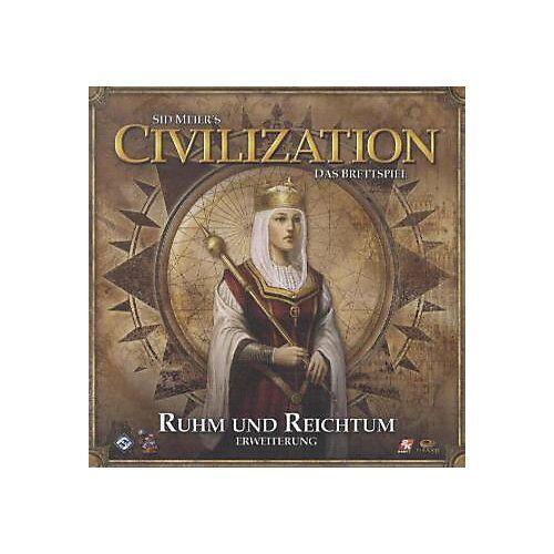 Asmodee Sid Meier's Civilization, Das Brettspiel, Ruhm und Reichtum (Spiel-Zubehör)