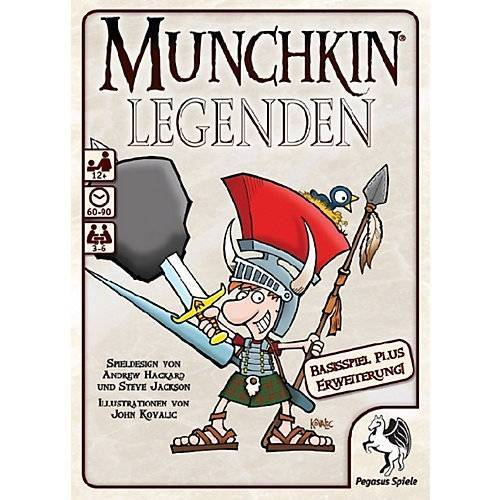 Pegasus Munchkin Legenden 1 + 2 (Kartenspiel)