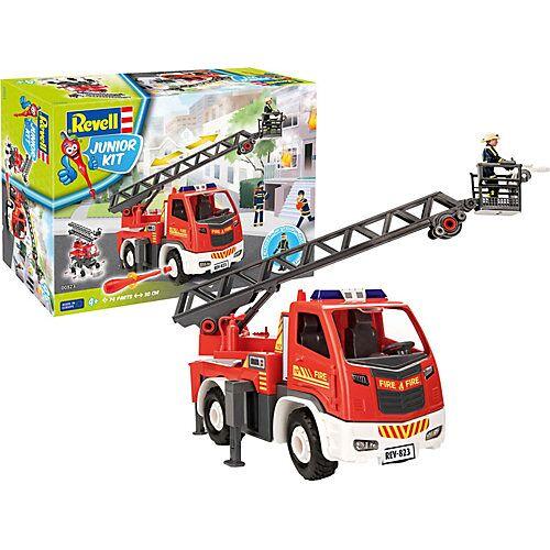 Revell Junior Kit Feuerwehr Leiterwagen+ Figur