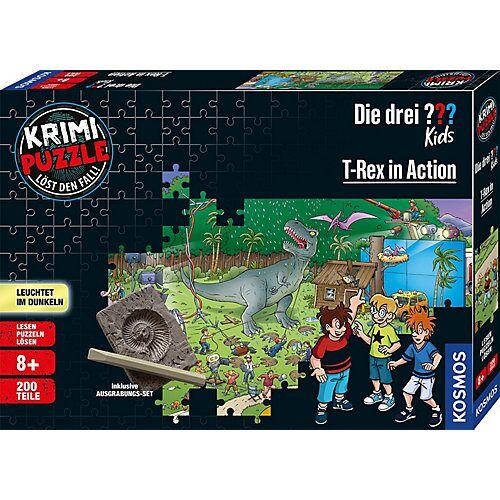 Kosmos Krimi Puzzle: Die drei ??? Kids 200 Teile - Dinos