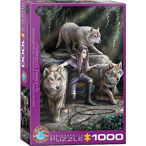Eurographics Puzzle 1000 Teile-Die Macht von Dreien von Anne Stokes