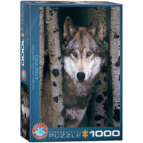 Eurographics Puzzle 1000 Teile-Gray Wolf