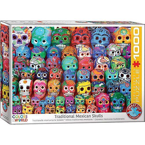 Eurographics Puzzle 1000 Teile-Tradition - Mexikanischer Schädel