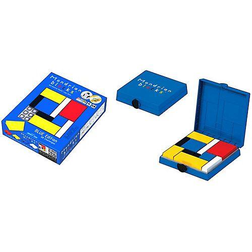 Mondrian Blocks – Blue Edition