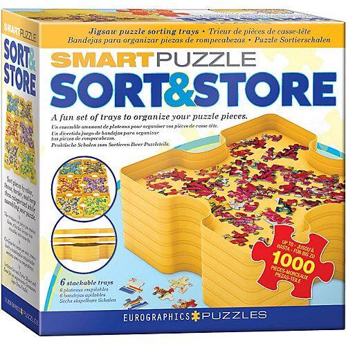 Eurographics Puzzle-Sortierschalen Sort & Store