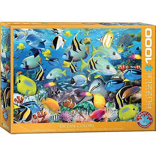 Eurographics Puzzle Farben des Meeres, 1.000 Teile
