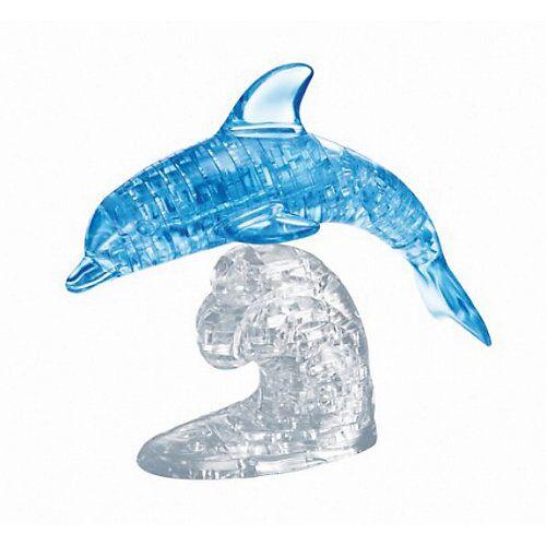 HCM Kinzel großes Crystal Puzzle - Delfin