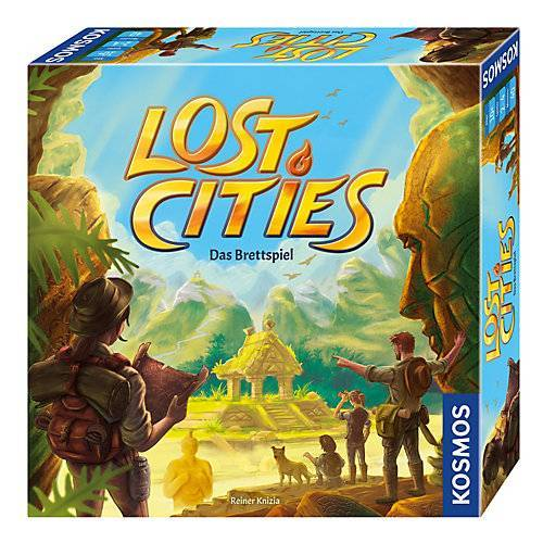 Kosmos Lost Cities - Das Brettspiel