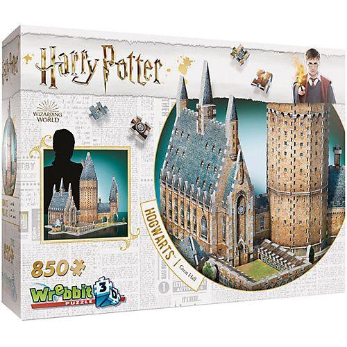 Wrebbit 3D-Puzzle Harry Potter Hogwarts Große Halle 850 Teile