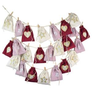 Douglas Collection Advent calendar with 24 cord bags Adventskalender