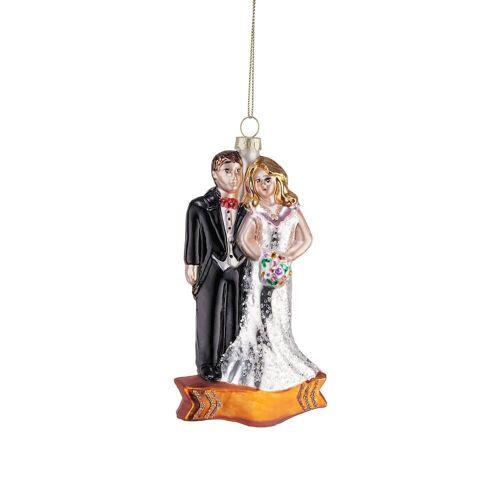BUTLERS HANG ON Anhänger Brautpaar Höhe 12cm