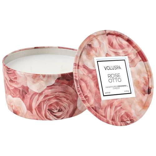 VOLUSPA Mini Kerze Rose Otto