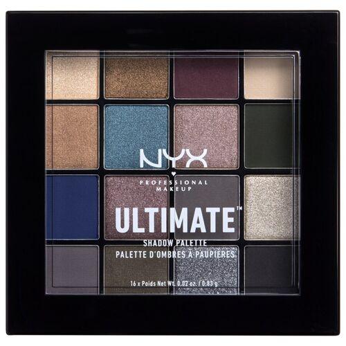 NYX Professional Makeup Nr. 10 - Ash Lidschattenpalette 13.3 g Damen