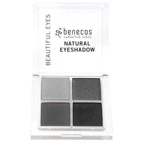 benecos Lidschatten Augen-Make-up Lidschattenpalette 8g Grau