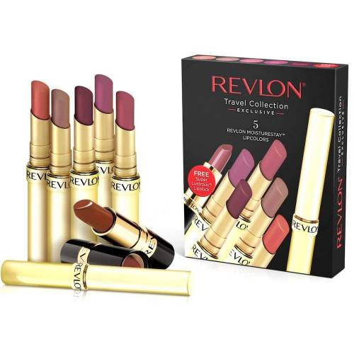 Revlon Lippenstifte 5er Set MOISTURE STAY
