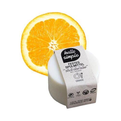 Hello Simple Festes Spülmittel - Orange 110g