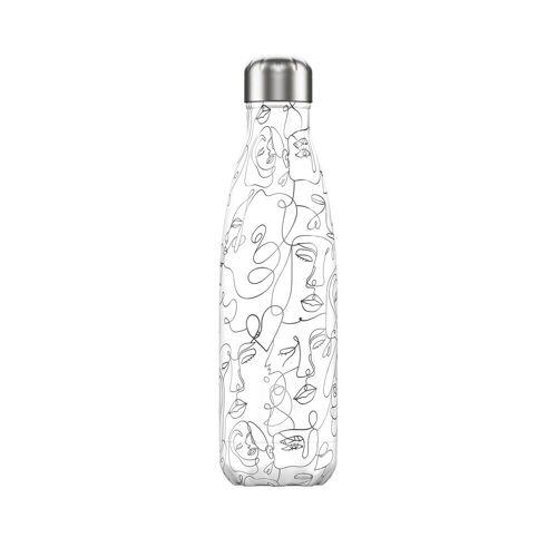Chilly's Trinkflasche Line Art Damen