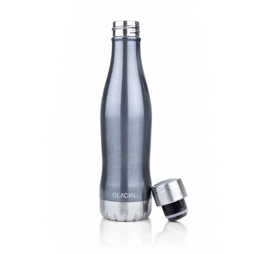 Trinkflasche Metallic Damen