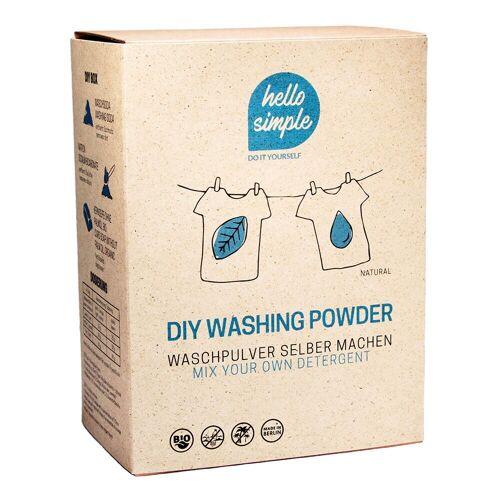 DIY Set - Waschpulver Olivenöl-Kernseife