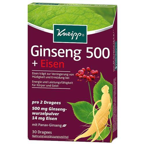 Kneipp Ginseng 500 + Eisen Nahrungsergänzungsmittel