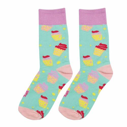 Wicked Sista WS Cupcake Socks Gr. 35-40