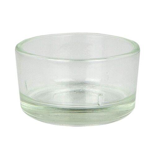 Kerzenfarm Hahn Bienenwachs - Teelicht Glas