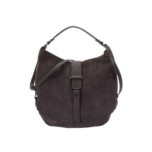 ekonika Handtasche aus Leder und Textil