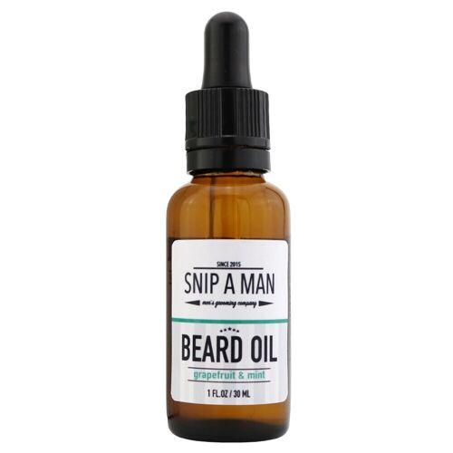 SNIP A MAN Beard Oil Grapefruit Mint
