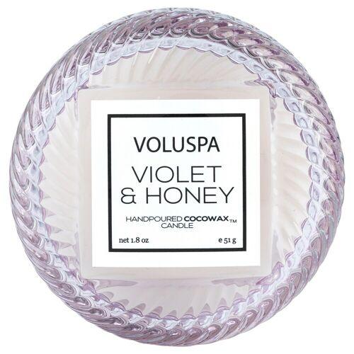 VOLUSPA Macaron Kerze Violett und Honig