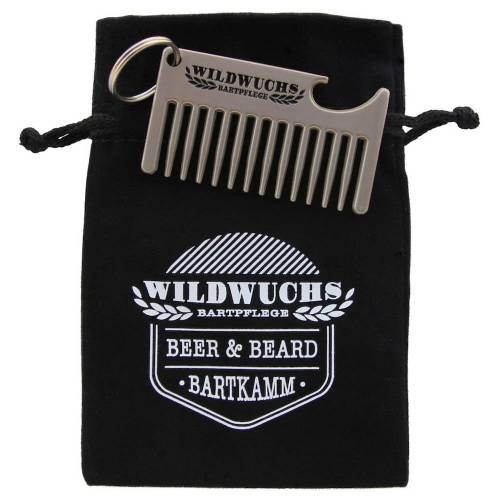 WILDWUCHS Beer & Beard Bartkamm