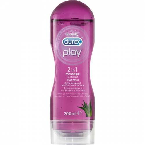 Durex Play 2 in 1 Massage & Gleitgel Aloe Vera